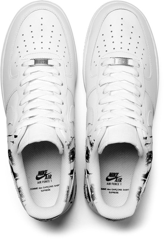 Comme des Garcons SHIRT x Supreme x Nike Air Force 1 Low