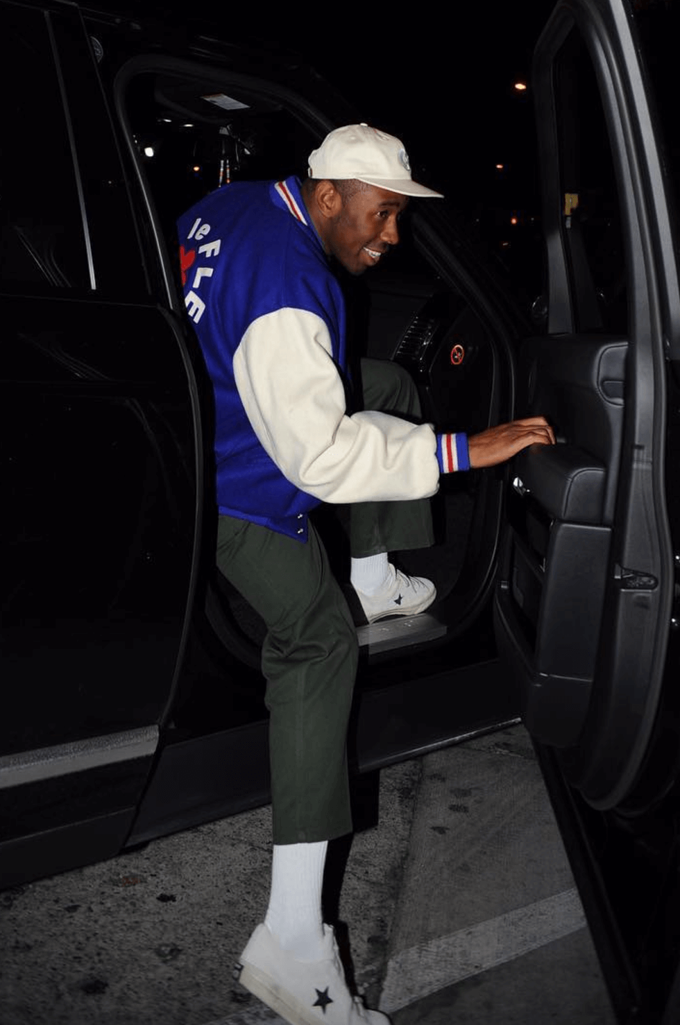Tyler the Creator in the Converse One Star