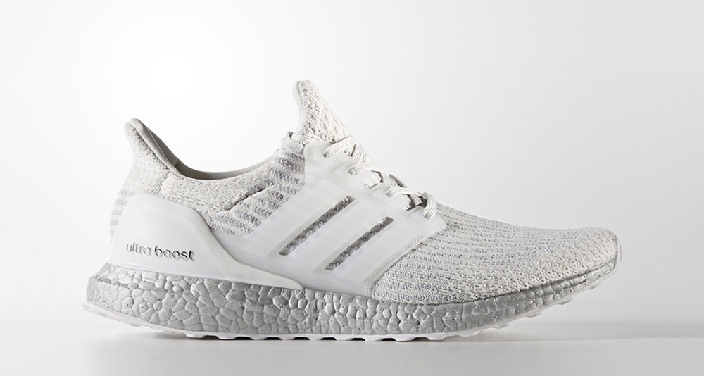 adidas ultra boost 3 0 crystal white is landing at. Black Bedroom Furniture Sets. Home Design Ideas