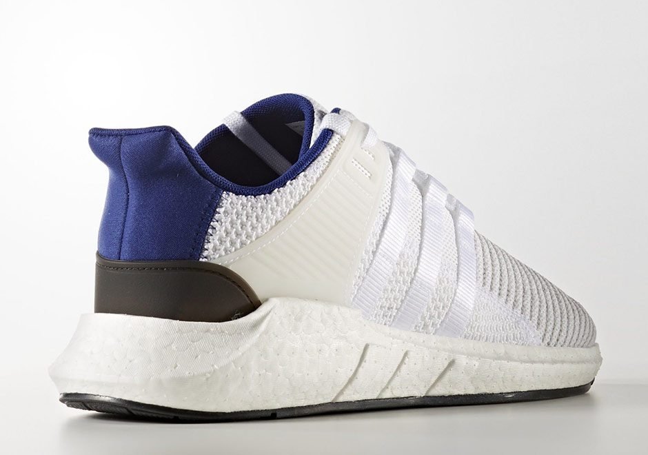 adidas eqt support 93 17 gets white royal blue makeup. Black Bedroom Furniture Sets. Home Design Ideas