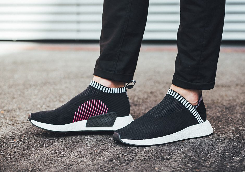 fashion Adidas Nmd Cs2 Pk Gray Shock