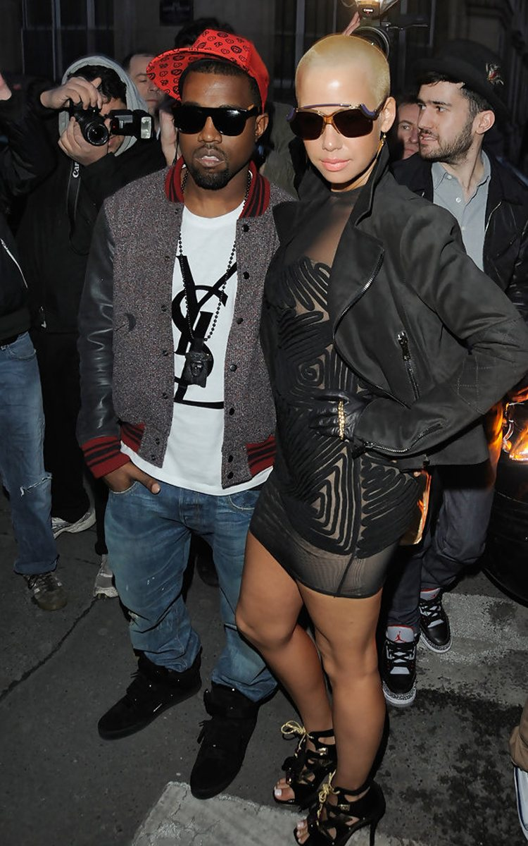 """Kanye West in the Louis Vuitton Jaspers """"Black"""""""