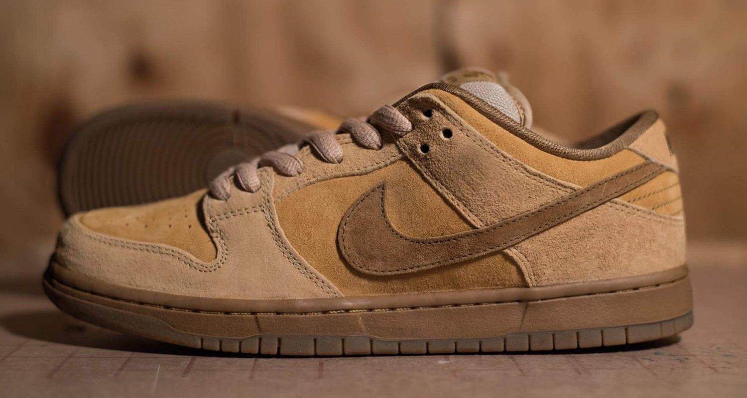 nike sb dunk low reverse reese forbes wheat drops this. Black Bedroom Furniture Sets. Home Design Ideas