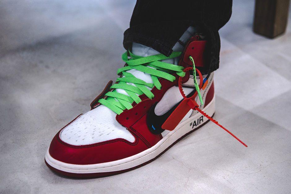 Off-White x Air Jordan 1 // A Closer