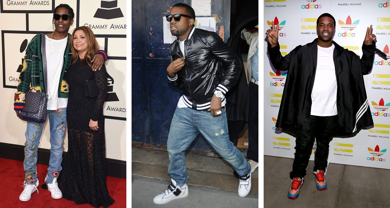 Celebrity Sneaker Watch: Bow Wow Takes The Stage in Air ...