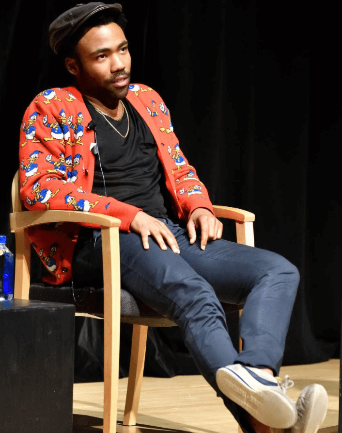Donald Glover in the Nike Cortez