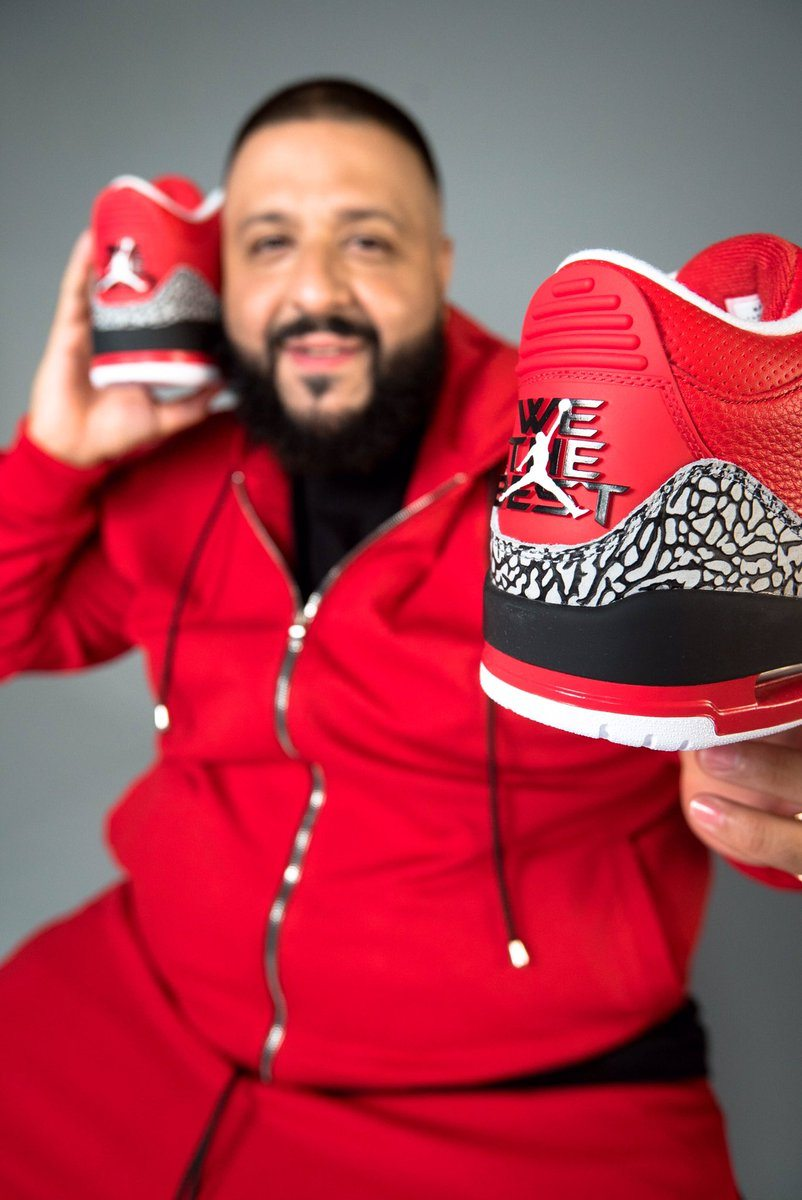 "DJ Khaled x Air Jordan 3 ""Grateful"""