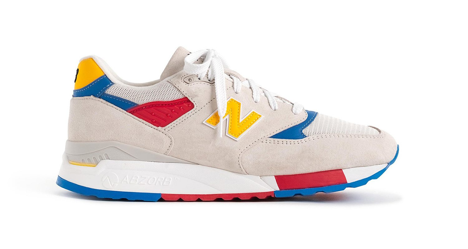 "J.Crew x New Balance 998 ""Beach Ball"""