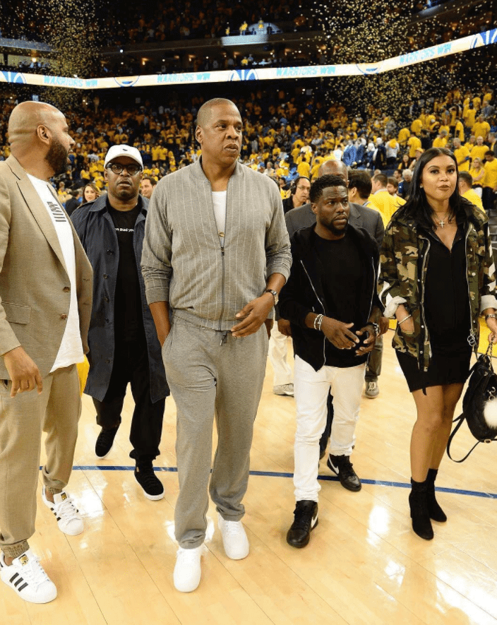 "Jay Z in the Nike Air Force 1 Low ""White"" & Kevin Hart RT x NikeLab Dunk Lux Chukka"
