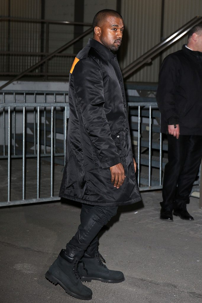 Kanye West in the Timberland Boot