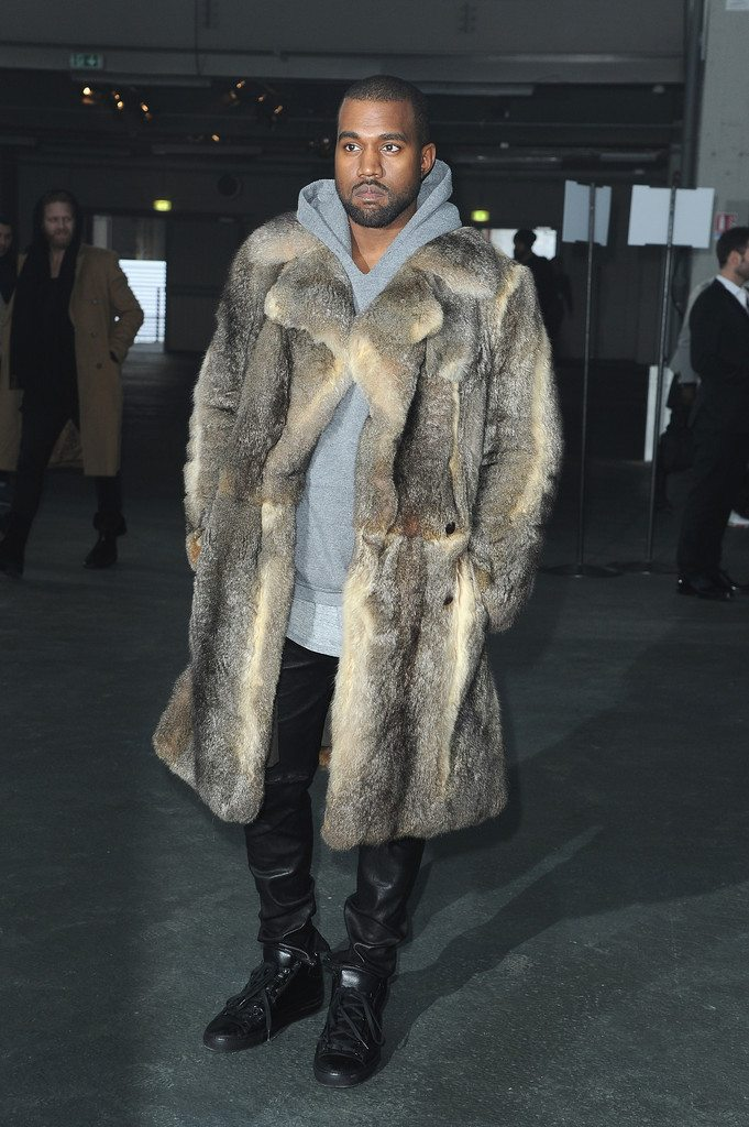 Kanye West in the Balenciaga Arena