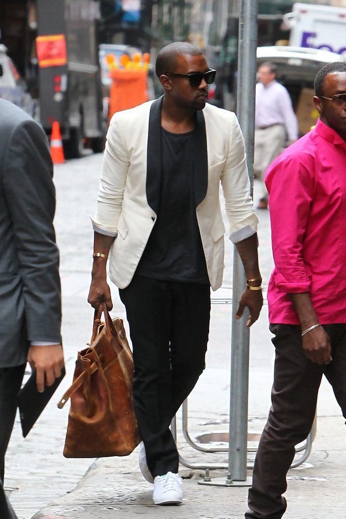 Kanye West in the Adidas Rod Lover
