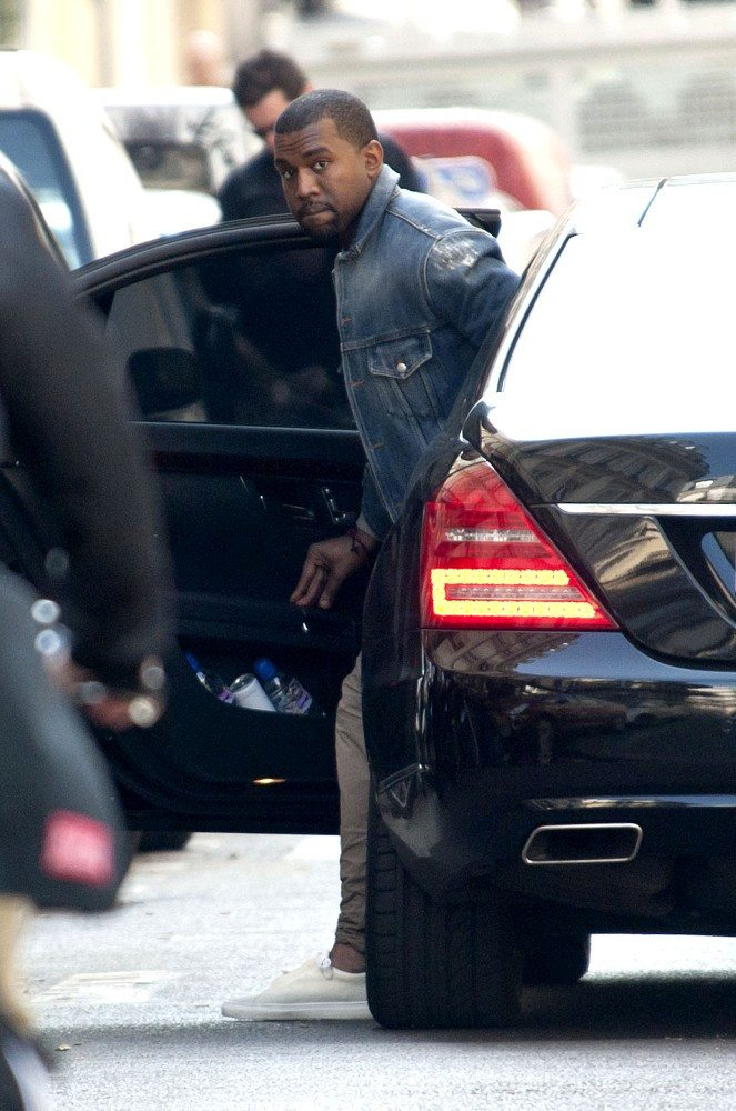 Kanye West in the Creative Recreation Cesario