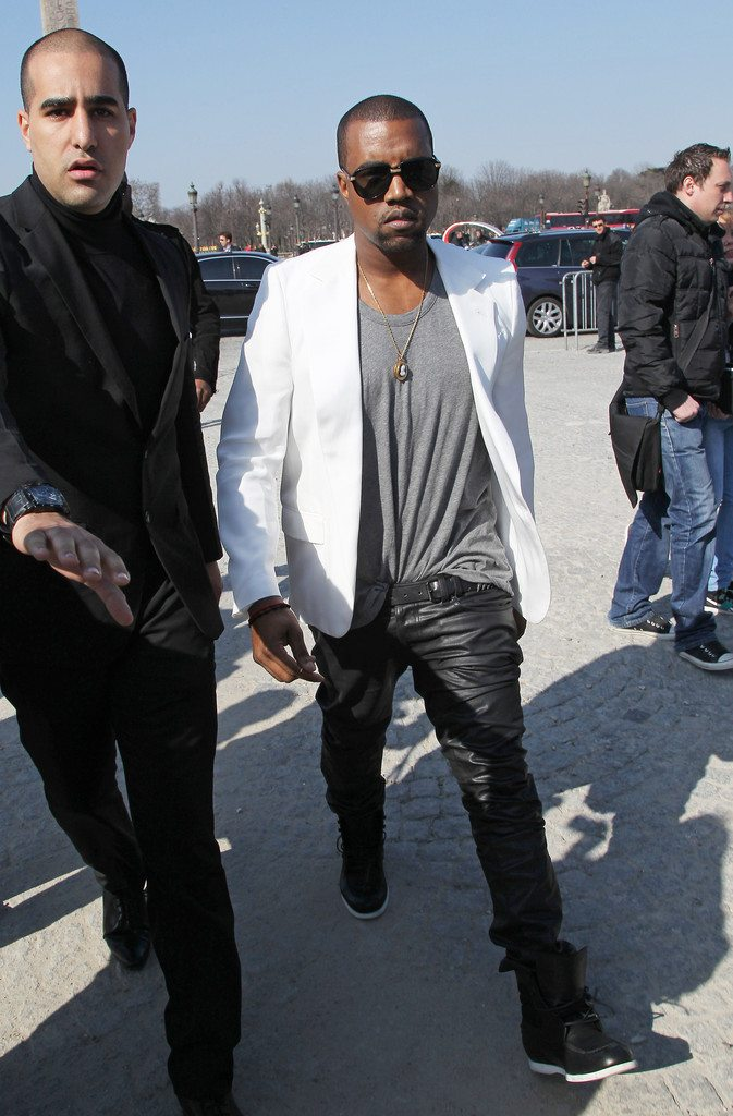 Kanye West in the Red Wing Boots