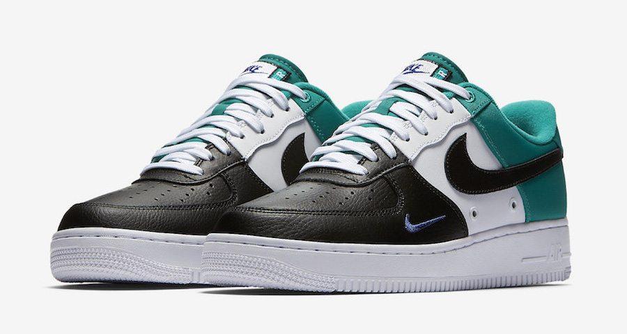 """Nike Air Force 1 Low Mini Swoosh """"Neptune Green"""" // Coming ..."""