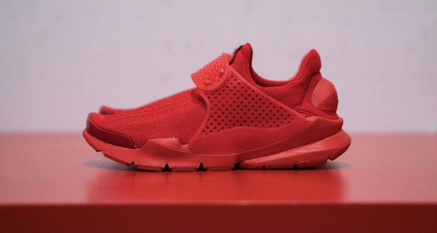 """Nike Sock Dart JCRD """"Triple Red"""""""