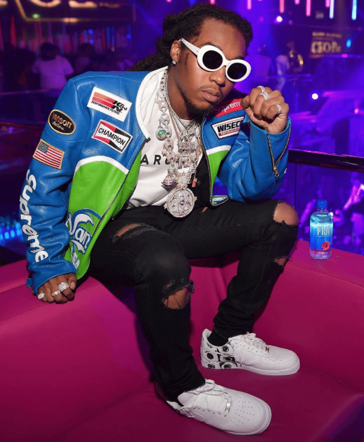 Takeoff in the Supreme x CDG x NikeLab Air Force 1 Low