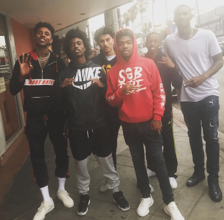 Nick Young in the Adidas Yeezy Powerphase