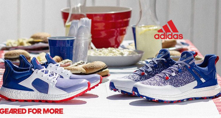 """adidas Golf """"Red White and Blue"""" Pack"""