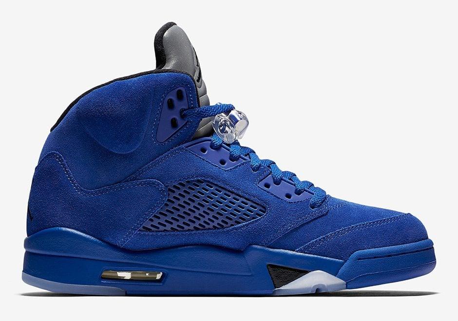 jordan 5 blue suede release date