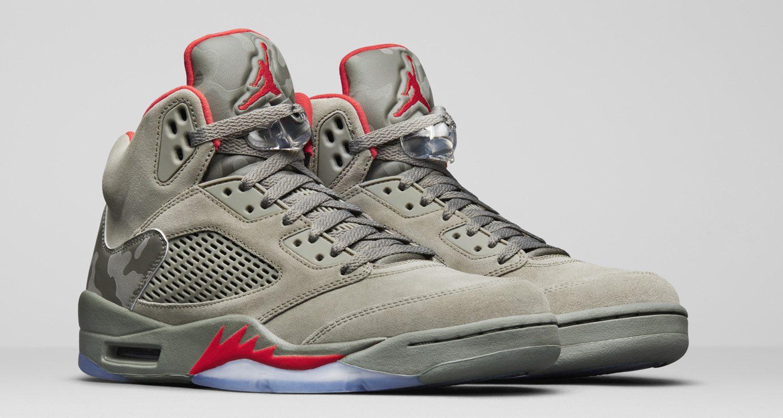 """Air Jordan 5 """"Camo"""""""