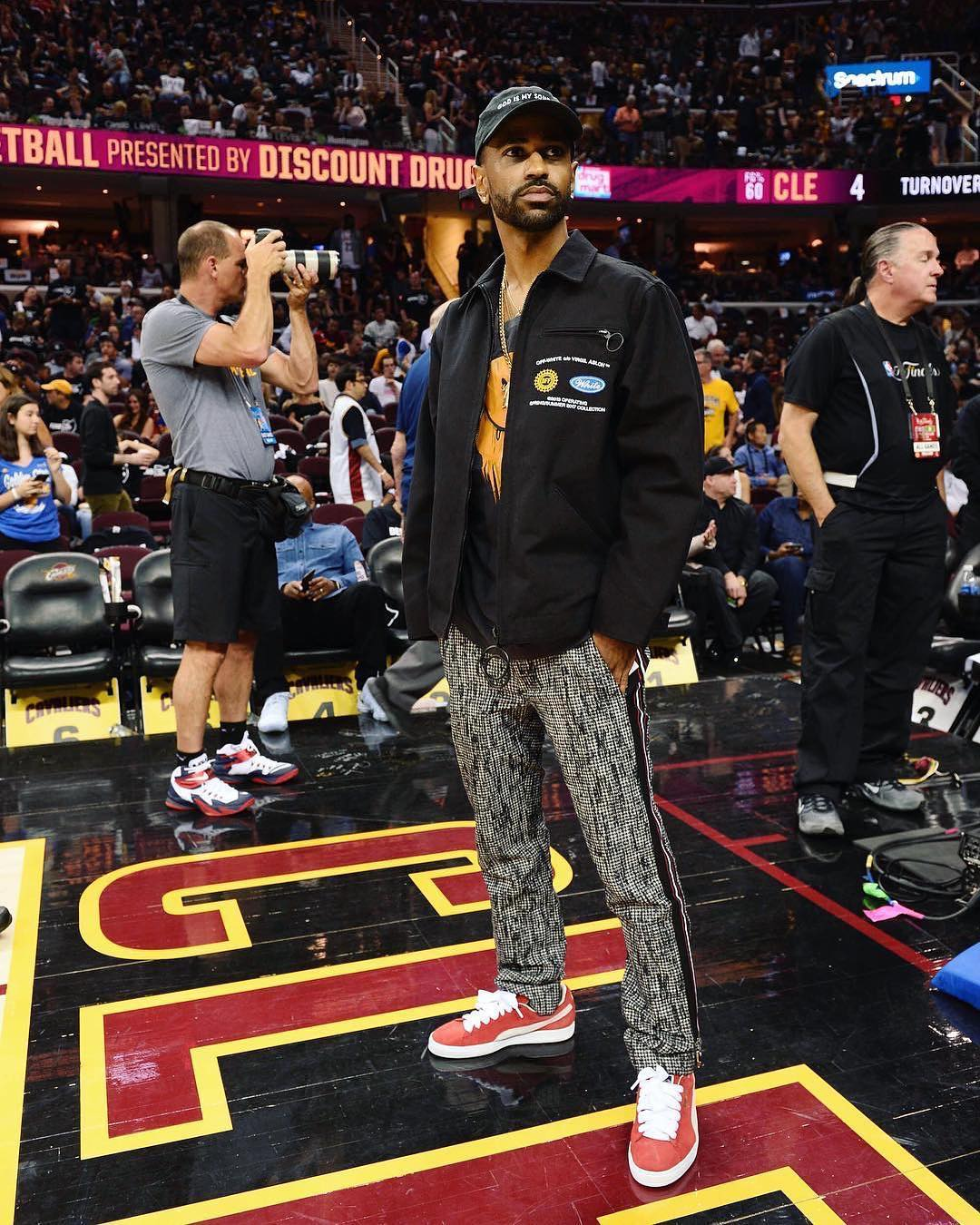 Big Sean in the PUMA Super Puma