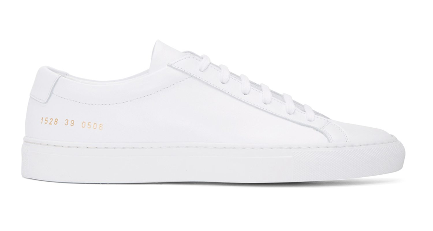 the common projects achilles low features unrivaled craftsmanship nice kicks. Black Bedroom Furniture Sets. Home Design Ideas