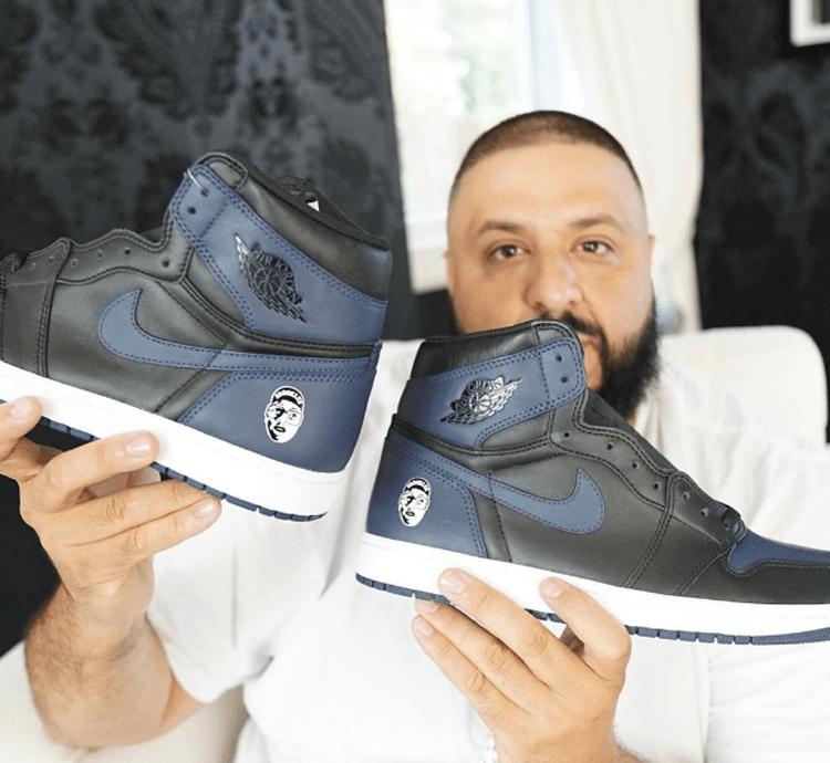 "DJ Khaled with the Air Jordan 1 ""Mars Blackmon"""