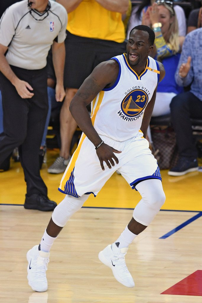 Draymond Green Laced Up His Nike React