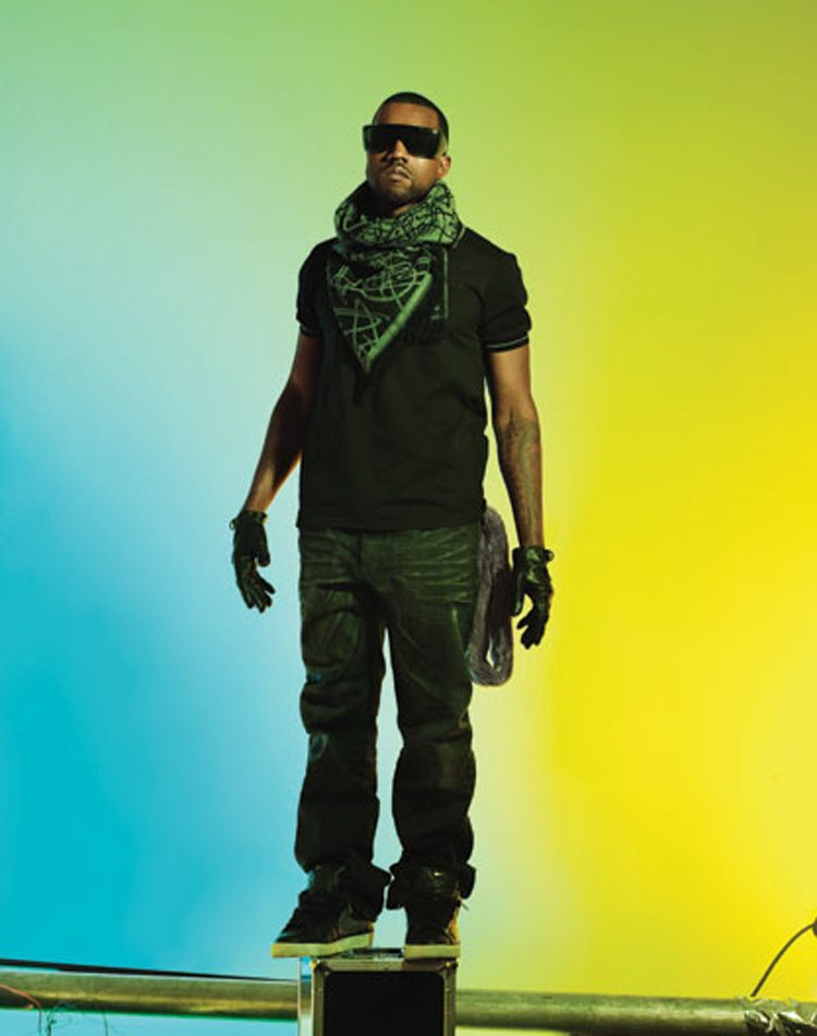 Kanye West gives the Supreme x Nike SB Blazer a futuristic music video twist.