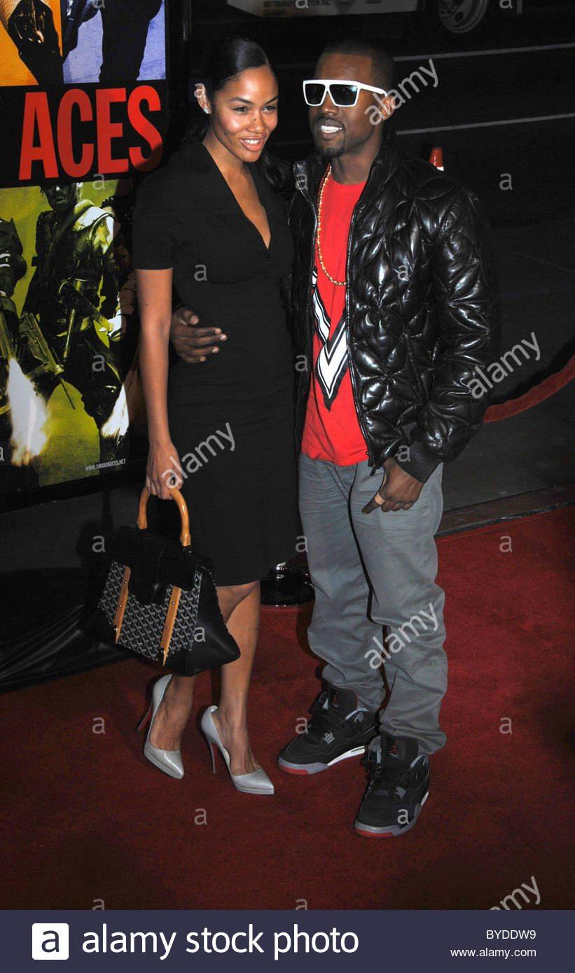"Kanye West in the Air Jordan 4 ""Bred"""