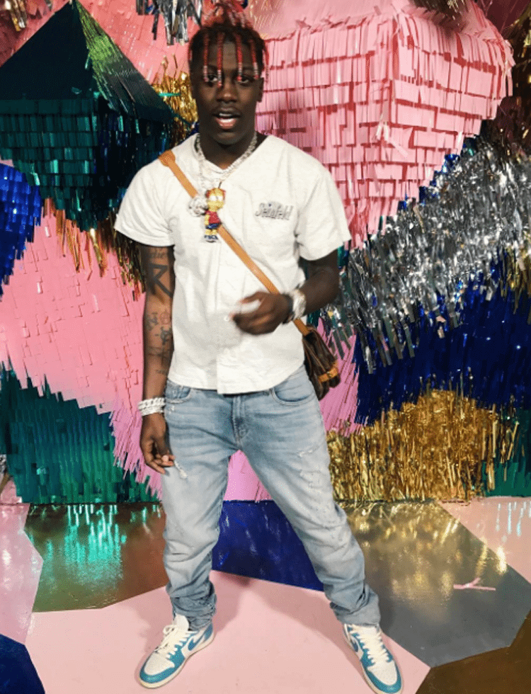 "Lil Yachty in the Air Jordan 1 ""UNC"""