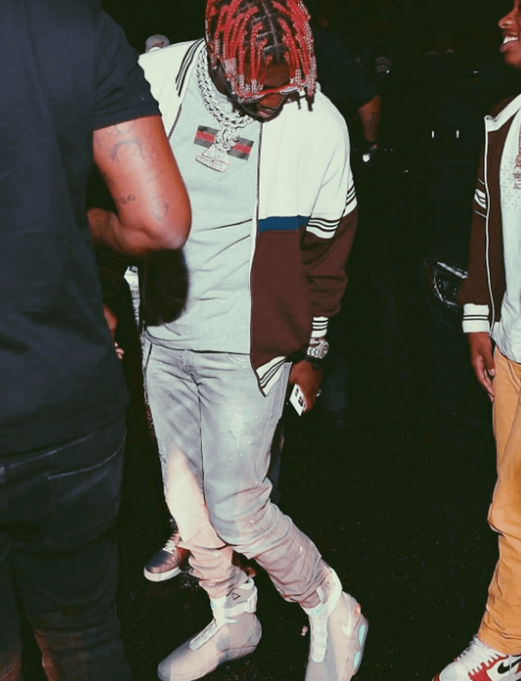 Lil Yachty in the Nike MAG