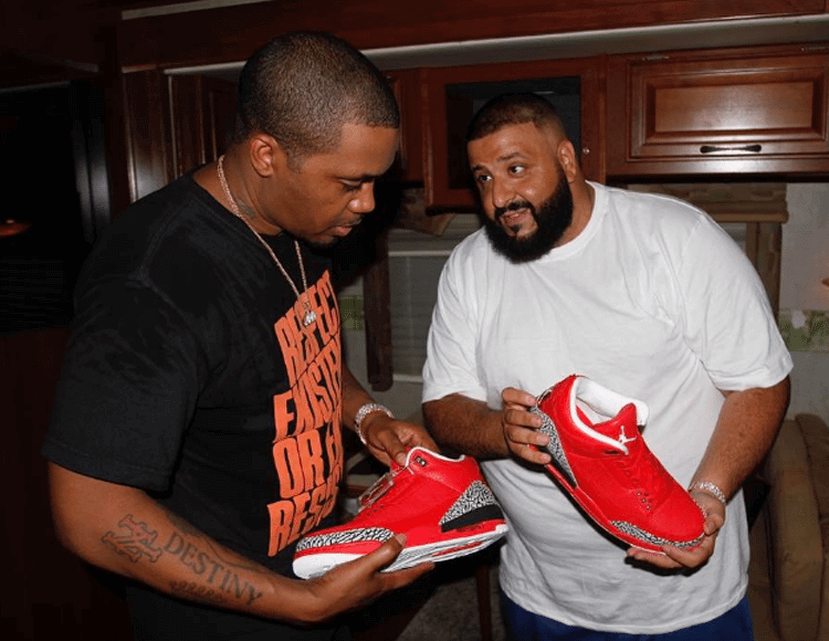 "Nas with the Air Jordan 3 ""Grateful"" PE"
