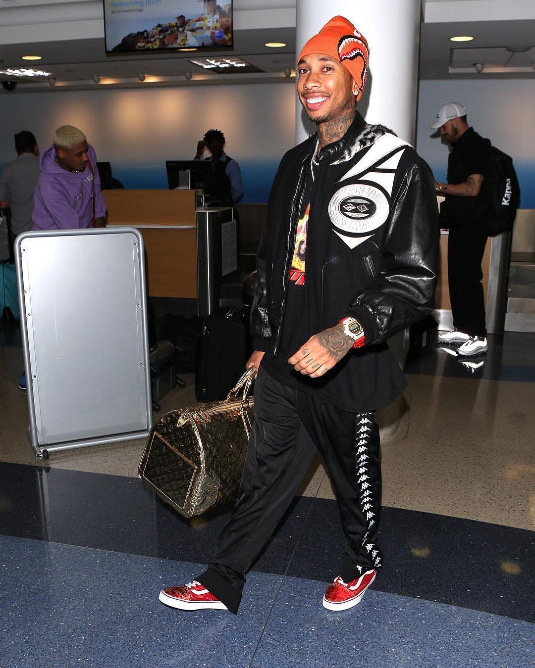 Tyga in the Vans Old Skool