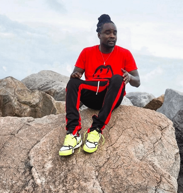Wale in the Nike Air Zoom Talaria