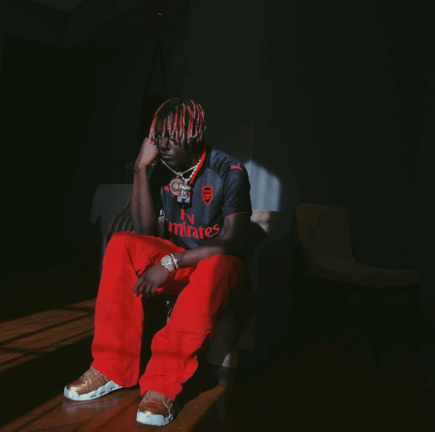 Lil Yachty in the Supreme x Nike Air More Uptempo