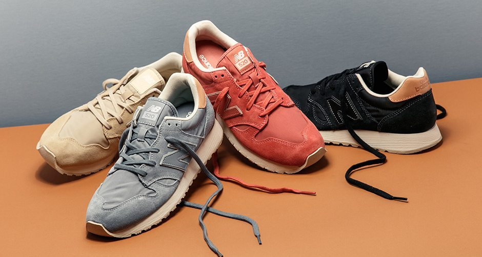 New Balance 520 Emerges in Suede