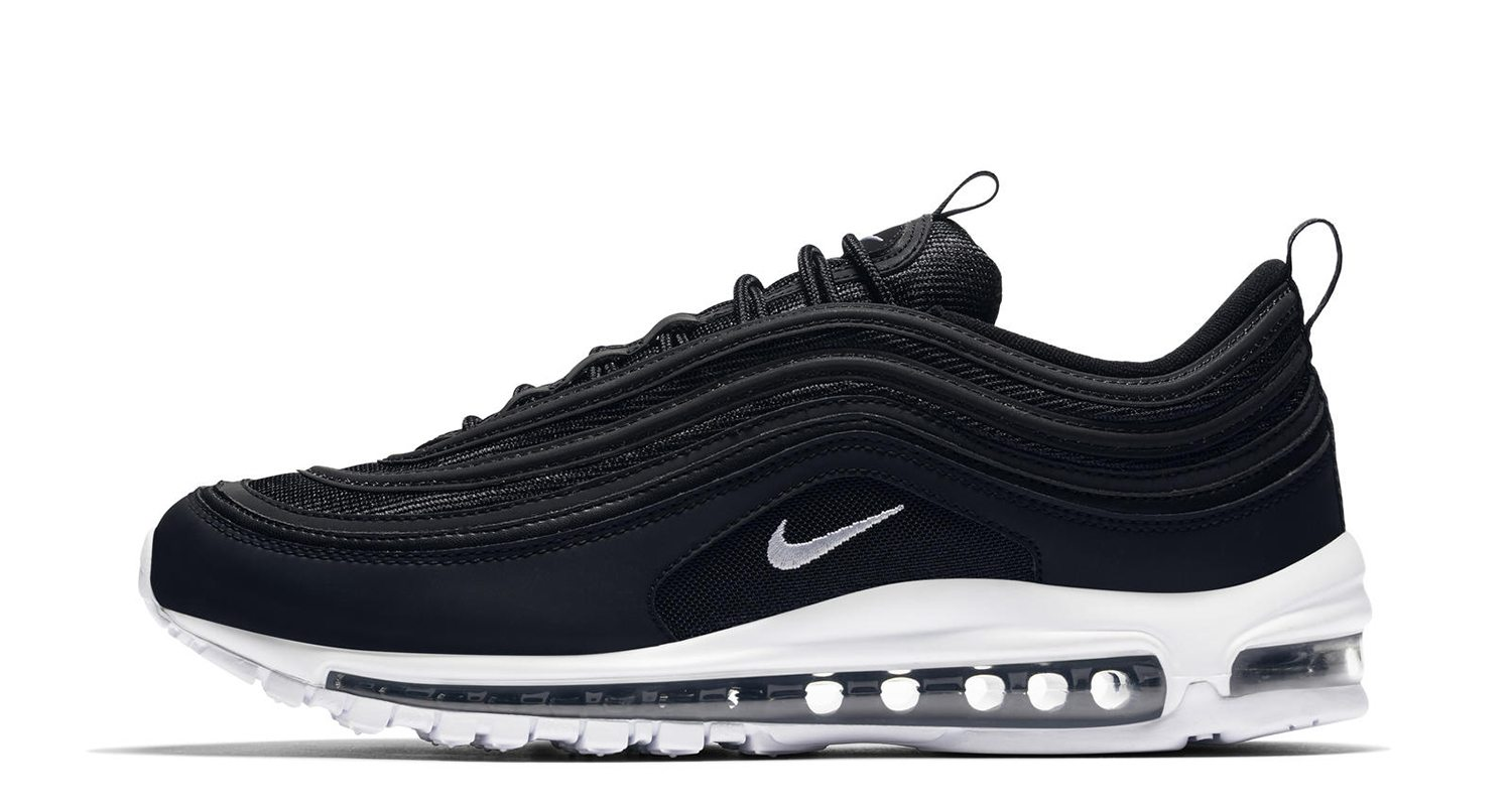 nike air max 97 black white release date nice kicks. Black Bedroom Furniture Sets. Home Design Ideas
