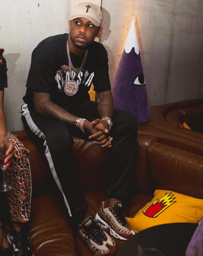 Fabolous in the Nike Air Max 95 Premium