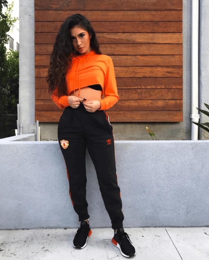 Orange Calderon in the adidas NMD XR1