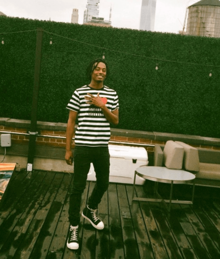 Playboi Carti in the Rick Owens Sneakers
