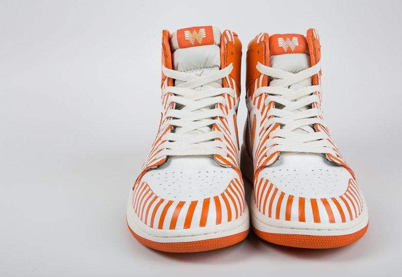 "Air Jordan 1 ""Whataburger"" Custom by Dank and Co."