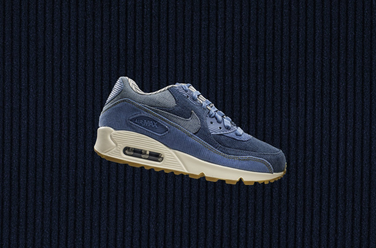 New Nike Air Max 90 Features Denim and Corduroy Construction