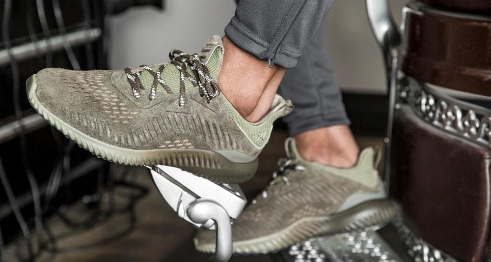 """adidas Alphabounce Suede """"Olive"""""""