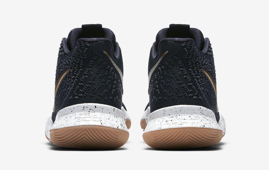 Nike Kyrie 3 Black/Metallic Gold