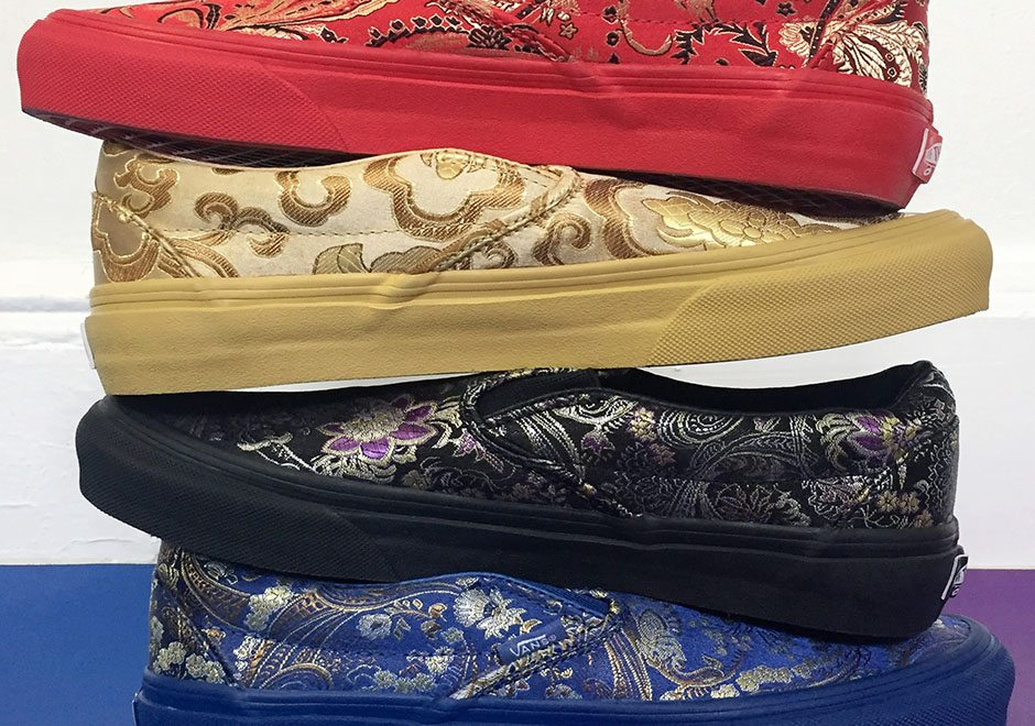 """Opening Ceremony x Vans """"Qi Pao"""" Collection"""