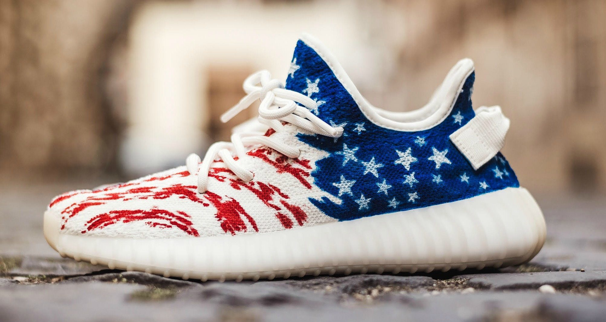 Adidas American Flag Shoes