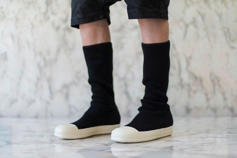 Rick Owens' DRKSHDW Sneaker Undergoes