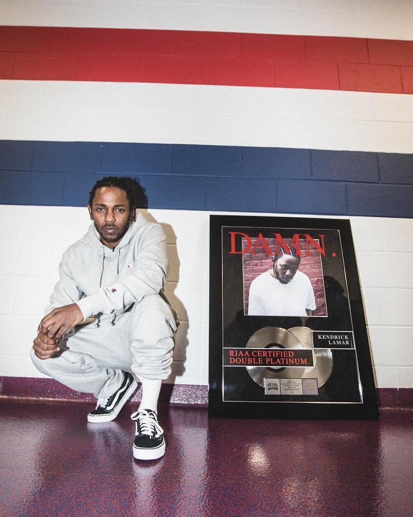 Kendrick Lamar in the Vans Old School